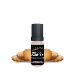 Cinnamon biscuit concentrate 2 x 10ml - e-Saveur