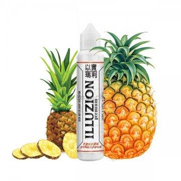Freeze Pineapple 0mg  50ml- Illuzion