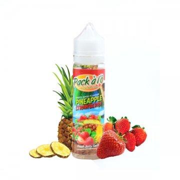 Pineapple Strawberry 0mg 50ml - Pack à l'Ô