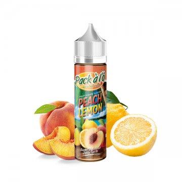 Peach Lemon 0mg 50ml - Pack à l'Ô