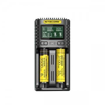 Chargeur UM2 Dual Slot 2A - Nitecore