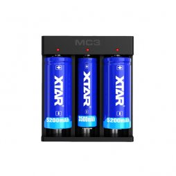 Charger MC3 3A 3 batteries - XTAR