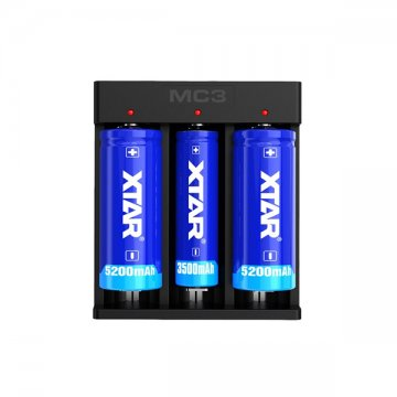Charger MC3 3A 3 batteries - XTAR