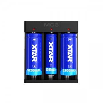 Chargeur MC3 3A 3 accus - XTAR