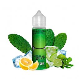 Green Devil 0mg 50ml - Les Devils