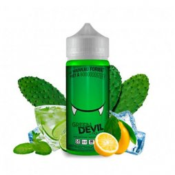 Green Devil 0mg 90ml - Les Devils