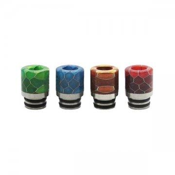 Drip tip resin inox honeycomb type 510