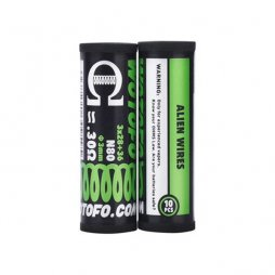 Ni80 Alien Prebuilt Coil 3*28+36G / 0.30Ω (10pcs) - Wotofo