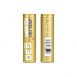 G30 18650 3000MAH 20A battery 2pcs- Golisi
