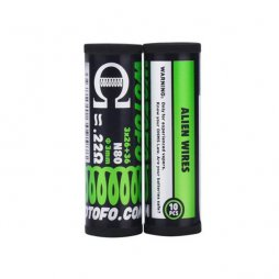 Ni80 Alien Prebuilt Coil 3*26+36G / 0.220Ω (10pcs) - Wotofo