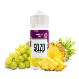 Grape Pineapple On Ice 0mg 100ml - SQZD