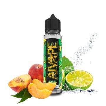 Peach Lemon 0mg 50ml - AJ Vape