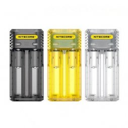 Chargeur Q2 2-slot 2A EU Version - Nitecore