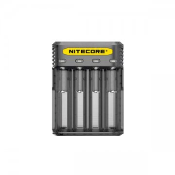 Chargeur Q4 4-slot 2A EU Version - Nitecore