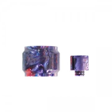Pyrex TFV8 Baby Visual Resin + Drip tip