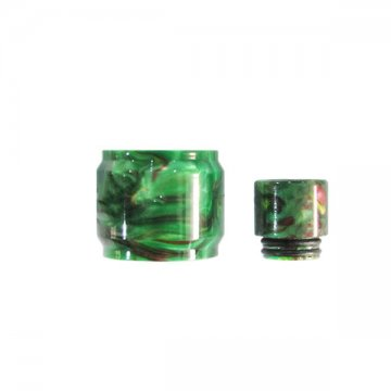 Pyrex TFV8 X-Baby Visual Resin + Drip tip