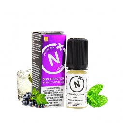 Sel de nicotine N+ Gins Addiction 10ml - Halcyon Haze