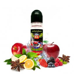 Red Apple 0mg 50ml - Juice 66