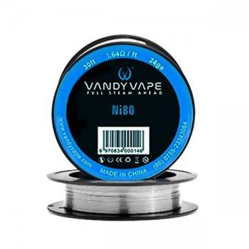 Ni80 24ga 30ft (1.64Ω/ft) - Vandy Vape