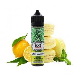 Lemon Macaron 0mg 50ml - KXS Liquid