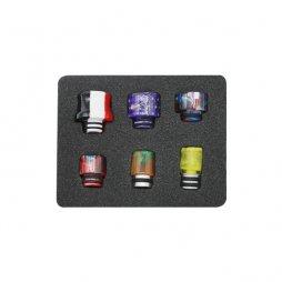 Drip tip 510 Résine 6pcs/Pack