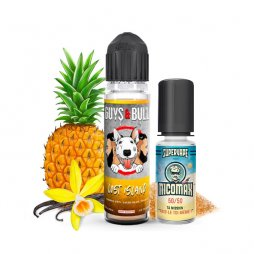E-liquide Lost Island 50 ml + 1 booster Nicomax 20mg - Guys & Bull