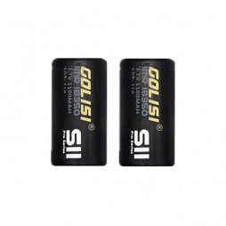 Battery IMR 18350 1100mAh 3.7V 11A (2pcs) - Golisi