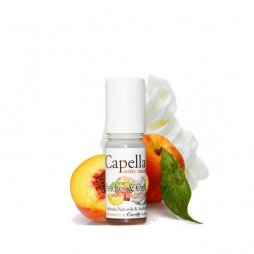 Concentré Peaches & Cream V2 10ml - Capella