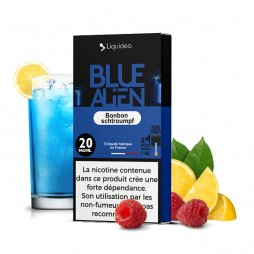 Cartouches Sel de Nicotine Blue Alien 1ml (4pcs) - Liquideo
