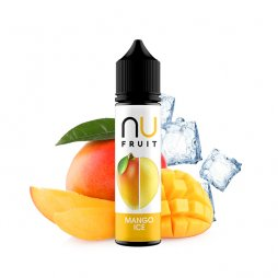 Mango Ice 0mg 50ml - NU Fruits