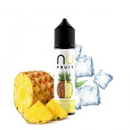 Pineapple Ice 0mg 50ml - NU Fruits