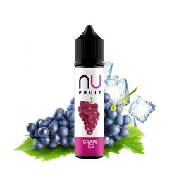 Grape Ice 0mg 50ml - NU Fruits