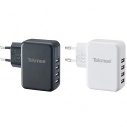 Chargeur Mural 4 Ports USB 4.8A - Tekmee