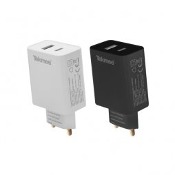 Chargeur Mural Rapide Type-C 3A - Tekmee