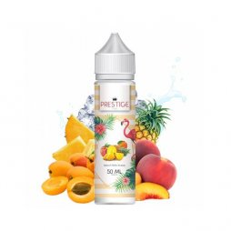 Abricot Pêche Ananas 0mg 50ml - Prestige Fruits