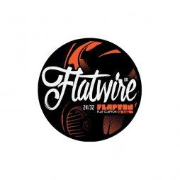 Flapton Flat Clapton Stainless 316L 24/32 AWG - FlatwireUK
