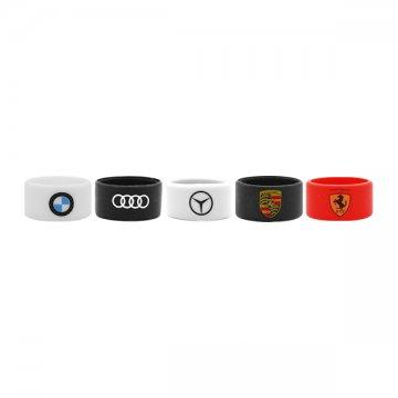 Vape Band Automobile new colours 22 to 28mm (5pcs)