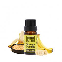 Concentré Banana Crumble 10ml - Custard Bastards by FlavorMonks