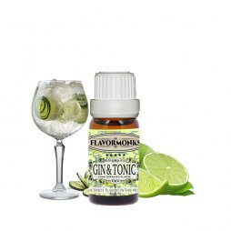 Concentrate Gin & Tonic 10ml - FlavorMonks