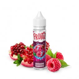 Grenadine Framboise 0mg 50ml - FRUITIZ