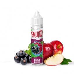 Pomme Cassis 0mg 50ml - FRUITIZ