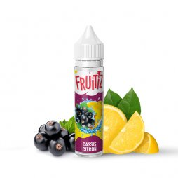 Cassis Citron 0mg 50ml - FRUITIZ