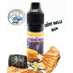 Concentrate Crepe Rhum Vanille 10ml - Cloud's of Lolo