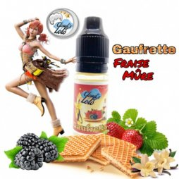 Concentrate Gaufrette Fraise Muree 10ml - Cloud's of Lolo