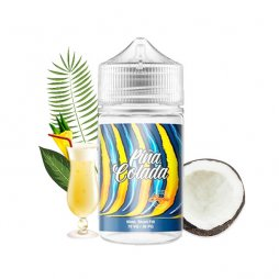 Sunrise: Pina Colada 0mg 50ml - Crazy Juice by Mukk Mukk