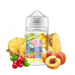 Sunrise: Sex On The Beach  0mg 50ml - Crazy Juice by Mukk Mukk
