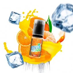 Orange Mandarine Ice 10ml - Devil Squiz