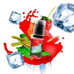 Fraise Rhubarbe Ice 10ml - Devil Squiz