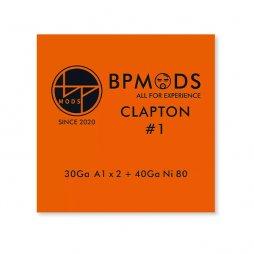 Clapton1 30Ga A1 x + 40Ga Ni80 - BP mods