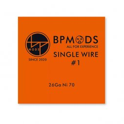 Single Wire  26Ga Ni70 - BP mods